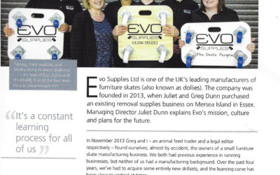 Evo's story – as featured in The Parliamentary Review 2016/17