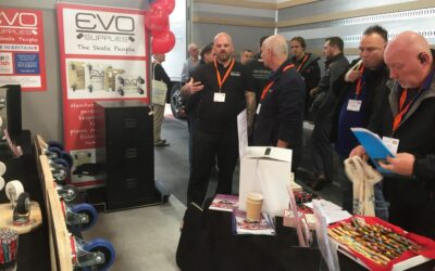 Evo at the Movers & Storers Show, 8/9 November 2017