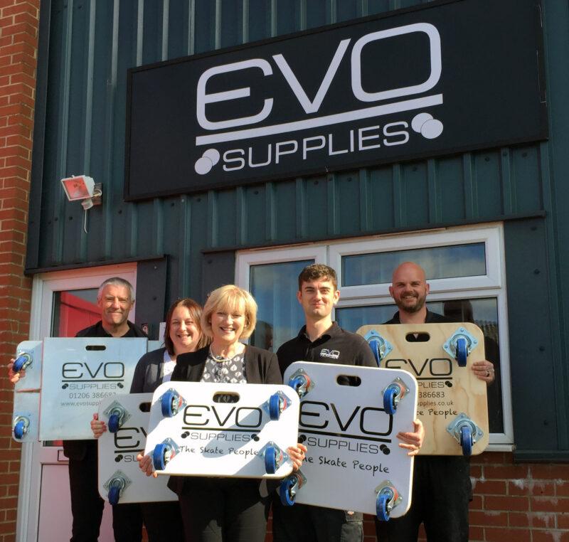 The team at Evo Supplies 2017