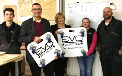 Bernard Jenkin MP visits Evo Supplies