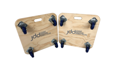 Personalised furniture skates by Evo Supplies: some recent orders