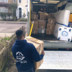 Rapid Removals displaying personalised dolly by Evo Supplies