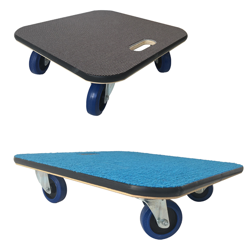 Carpet topped furniture moving skates by Evo Supplies