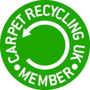 Carpet Recycling UK Member badge Evo Supplies