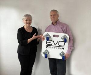 Juliet and Greg Dunn Evo Supplies Ltd